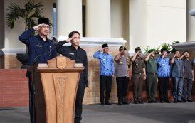 Upacara Gabungan Pemkot Pagar Alam Dipimpin Ketua DPRD