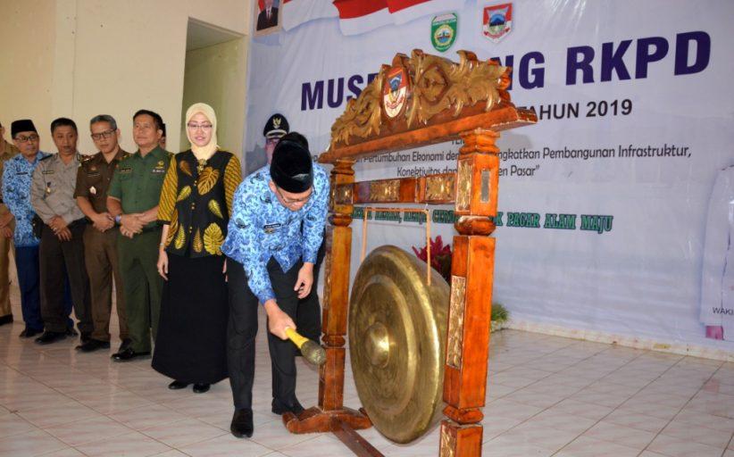 Walikota Buka Musrenbang RKPD Pagar Alam 2019