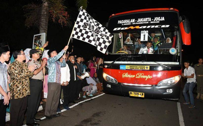 Walikota Lepas 125 Jamaah Calon Haji Pagar Alam
