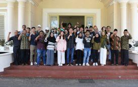14 Anggota AIESEC In Unsri Kunjungi Pagar Alam